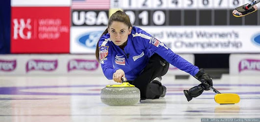 U.S. Women's Curling Team Drops Heartbreaker To Canada, Advances To Bronze-Medal Game For First Time In 5 Years
