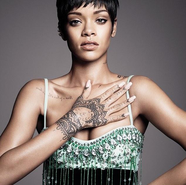 KATCHING MY I: 'I Don't Wear A Bra': Rihanna Reveals To US