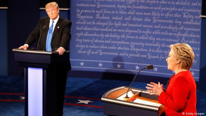 USA Wahlkampf TV Duell (Getty Images)