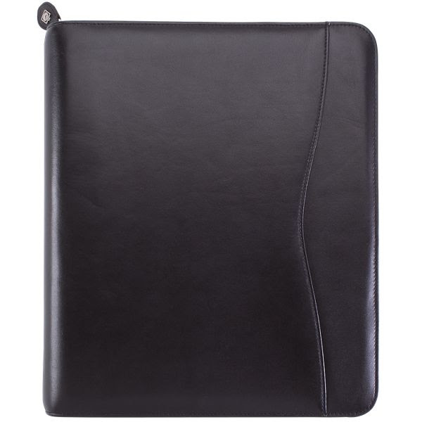 Day-Timer Verona Leather Zippered Planner Cover Folio Size (4480)