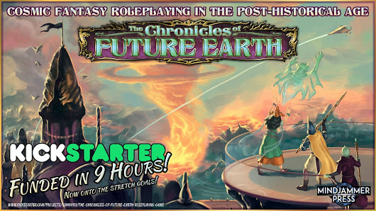 Update 17: The Chronicles of Future Earth - Actual Play session 1! · The Chronicles of Future Earth Roleplaying Game