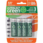 UltraLast Green ULGHP4AA Battery - AA - NiMH
