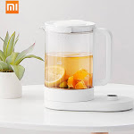 xiaomi mijia multifunctional kettle durable electric kettle oled screen app remote control home appliance tea kettle 1.5l 220v