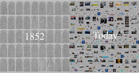 Watch the Rise of Photography in This Video of Every NY Times Front Page