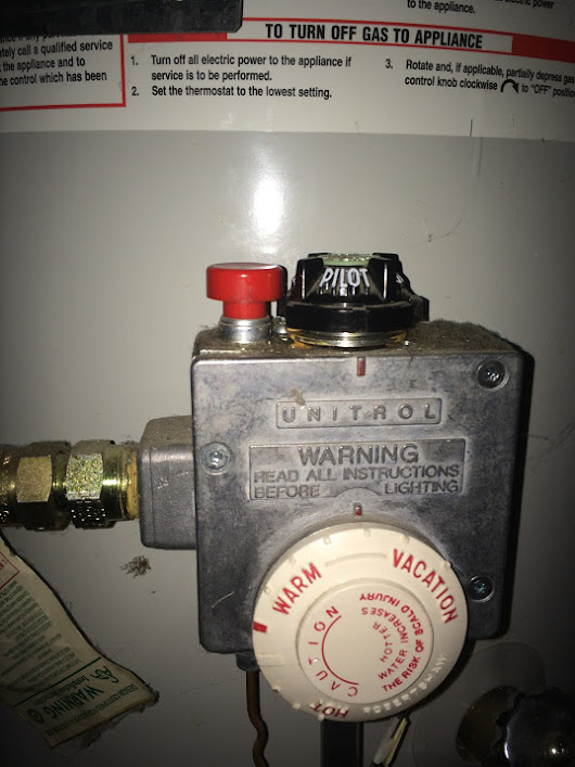 pilot light does not stay on on gas burner after vacation