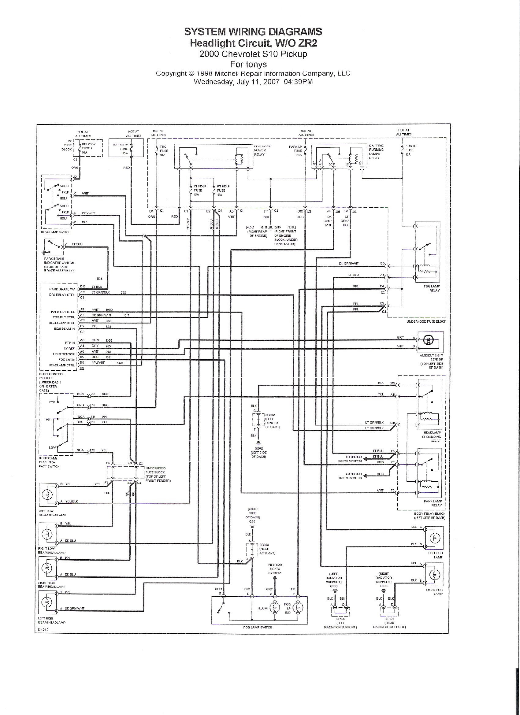 Bulldog Remote Starter Wiring Diagram 98 S10