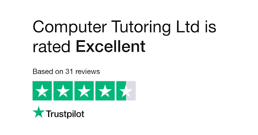 "Computer Tutoring Ltd is rated ""Great"" with 7.7 / 10 on Trustpilot"