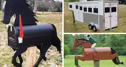 12 Horse Mailboxes So Awesome You'll Look Forward to Getting Mail