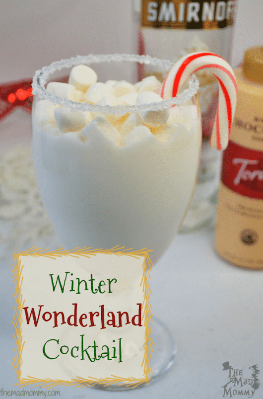 A Winter Wonderland Cocktail
