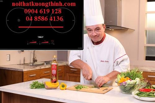 Bếp từ Chefs tích hợp nhiều tính năng ưu Việt