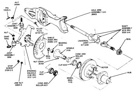 Ford Front Axle Diagram | 2017 - 2018 Best Cars Reviews