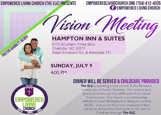 Vision Meeting in July