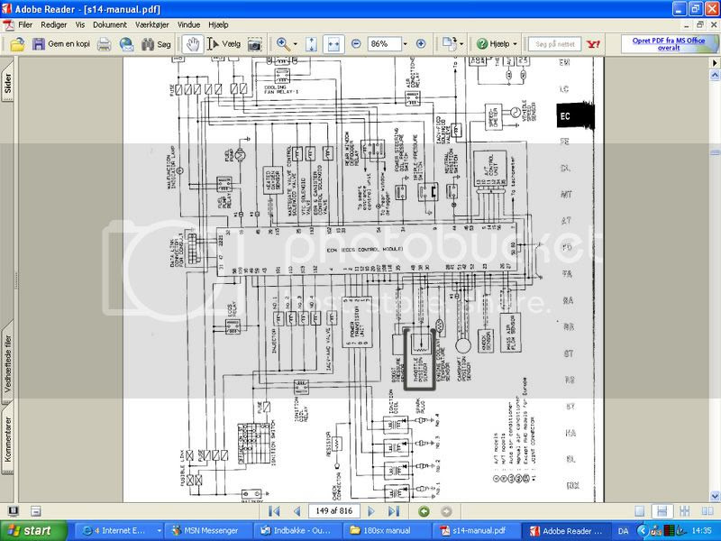 Sr20de S14 Wiring Diagram - Complete Wiring Schemas