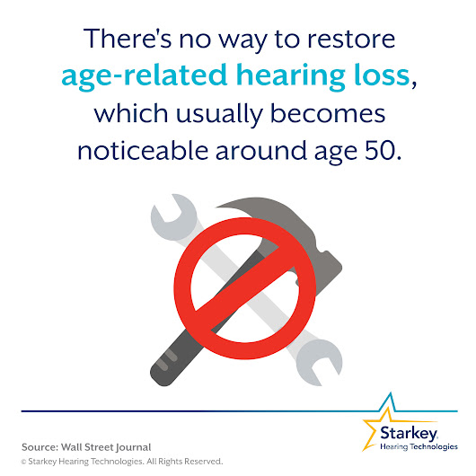 #HearingFactFriday: Age-related hearing loss can't be restored but can be helped