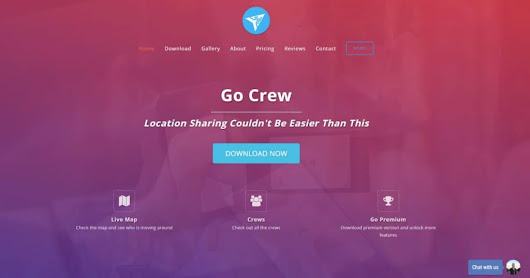 Go-Crew - The most simplest app for location share realtime