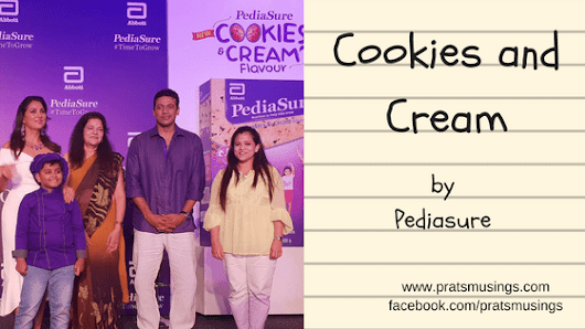Pediasure Cookies and Cream - Amazing summer food for your kids - Pratsmusings