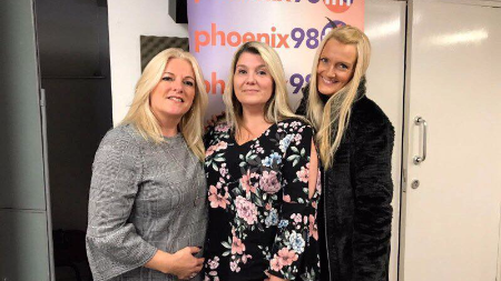 Jayne Connery & Karin Flower on Phoenix FM
