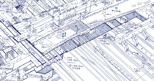 Lose Yourself in Tomoyuki Tanaka's X-Ray Illustrations of Tokyo Train Stations