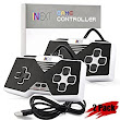 Amazon.com: [Newest Version] SNES Super Nintendo Controller, iNNEXT Retro USB Super Classic Controller for PC / Mac / Raspberry Pi (Black) (Pack of 2): Computers & Accessories