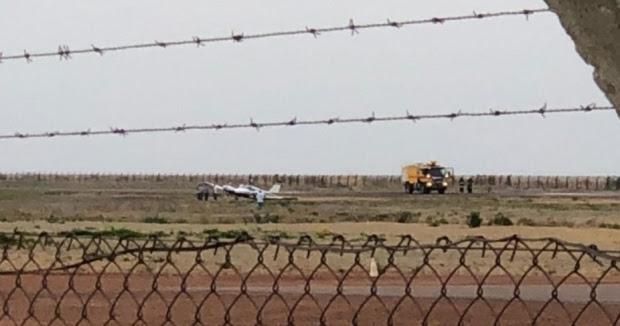 Avião sai da pista durante pouso no aeroporto de Sinop