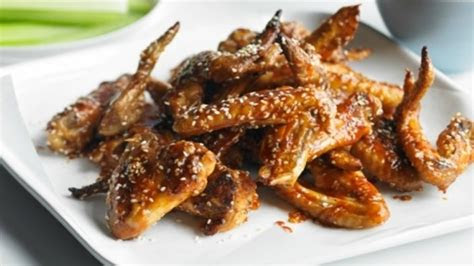 baked chicken wings food network