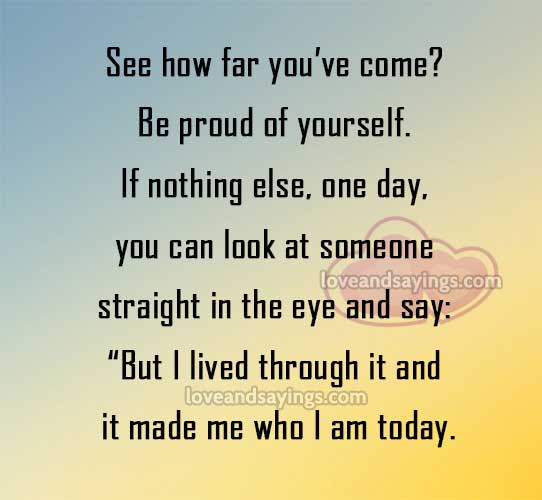 Quotes About Proud Of Yourself 78 Quotes
