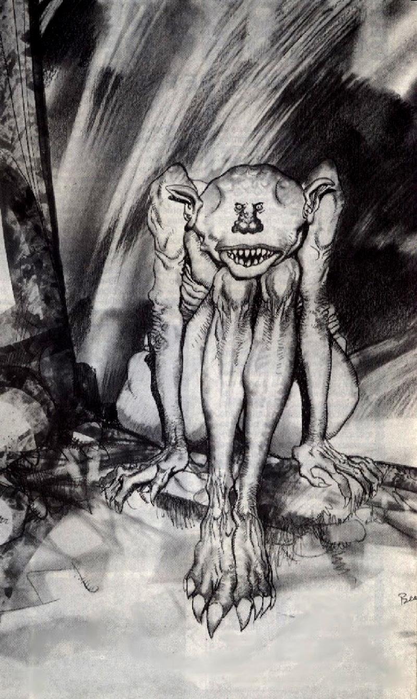 Josep M. Beá - Lovecraft Monster Gallery - 15