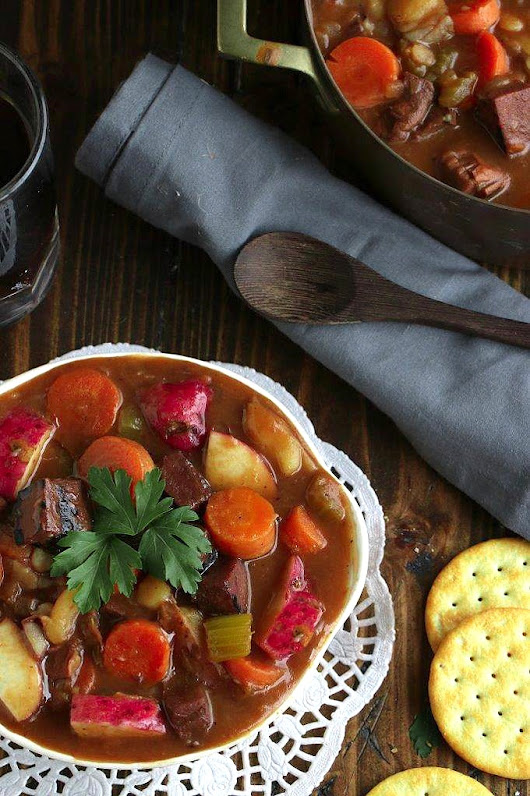 Vegan Guinness Irish Stew | Vegan Vigilante
