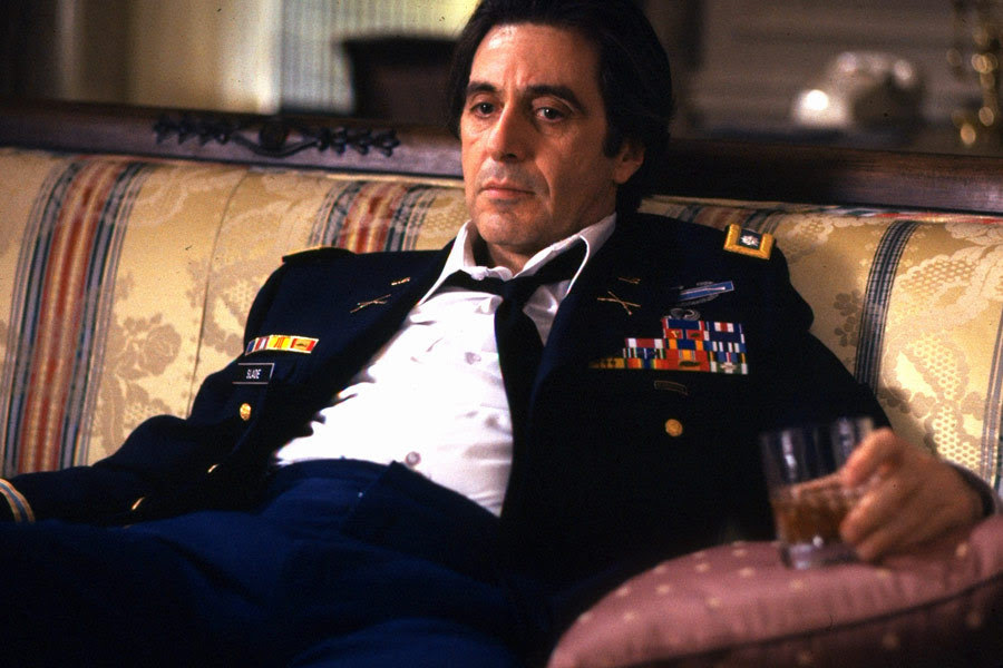 Dramatic Monologue For Men Al Pacino As Frank Slade In Scent Of A