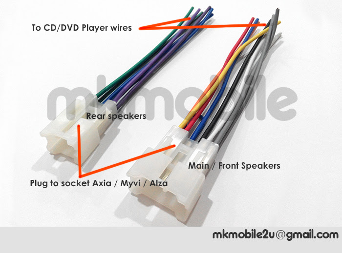 [WTS] Axia / MyVi / Alza CD/DVD Player cable