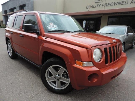Used 2008 Jeep Patriot Sport 2WD for Sale in Phoenix AZ 85027 101 Auto Outlet