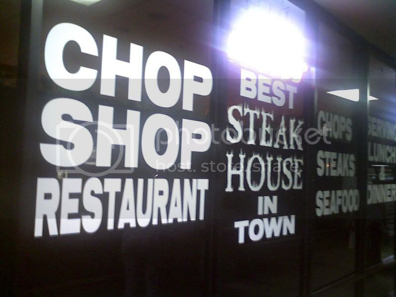 Chop Shop Restaurant