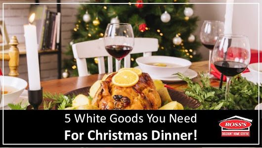 5 White Goods You Need For Christmas Dinner!
