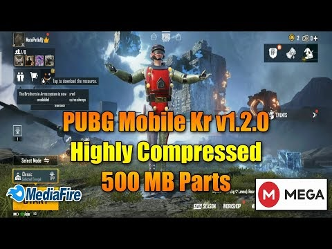 [Official] PUBG Mobile Kr v1.2.0 Highly Compressed Android 7/8/9/10/11