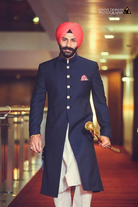 sikh wedding groom dashing royal wedding