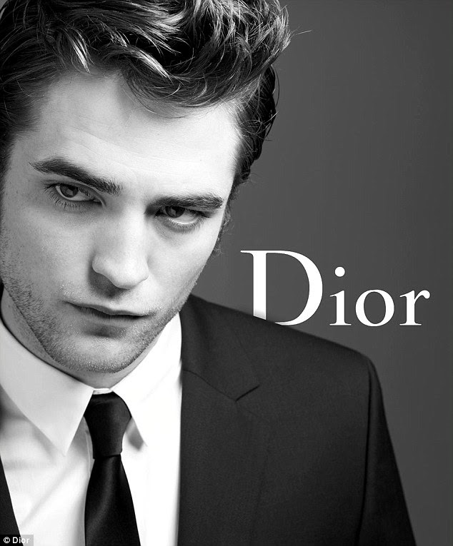 Dashing: Robert Pattinson said he had changed his grooming habits since signing the Dior contract