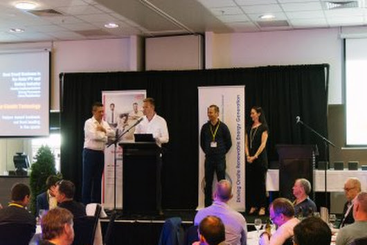 Esolar Wins SEANZ Award For Best Small Business In NZ | Solar Electric Technology