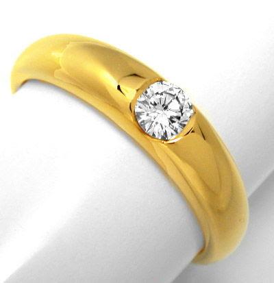 Foto 1, Neu! Spann-Ring Top-Wessel.-F Lupenrein Luxus Portofrei, S8193