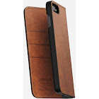 Nomad Leather Folio Wallet Case for Apple iPhone 7 Plus Brown Rugged Patina