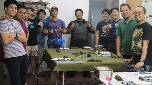 Miniature Wargaming in the Philippines: The Makati Marauders | Geek and Sundry