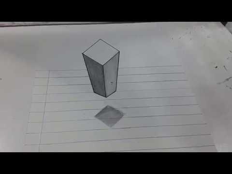 Como Dibujar En 3d A Lapiz Paso A Paso Faciles Youtube