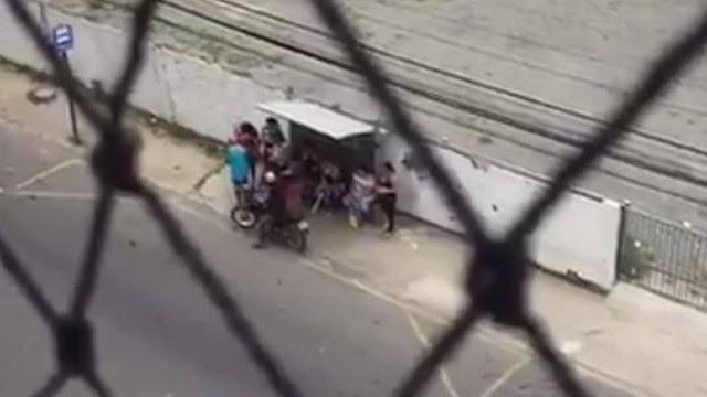 Registros feitos das janelas de apartamentos mostram situação caótica na Região Metropolitana de Vitória (ES)
