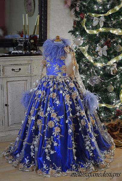 Elegance Girls Couture Gown