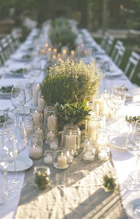 The Perfect Romantic Italian Garden Dinner Party.   ROCK