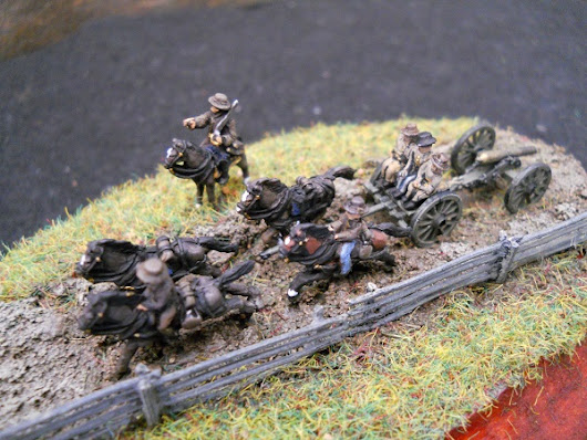 New 10mm American Civil War figures from Cracker Line Miniatures