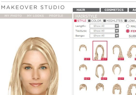 Best Virtual Hairstyle Software Hairstyle 817