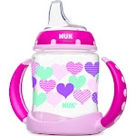 NUK Pink Hearts 5 oz Learner Cup, Assorted