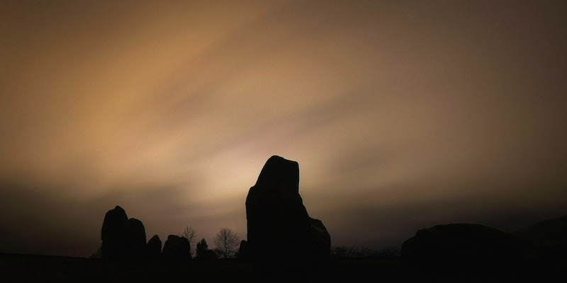 The Winter Solstice Is Celebrated In Cumbria
