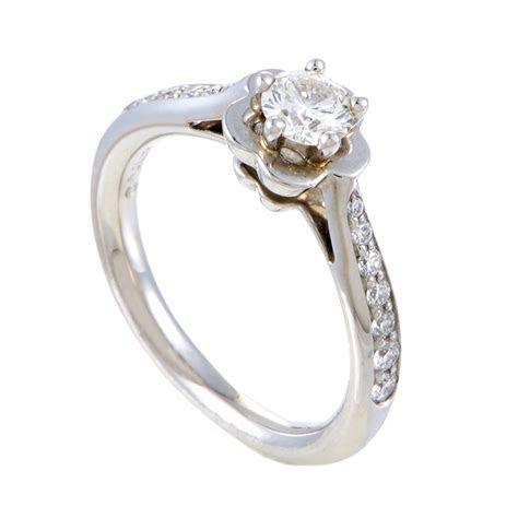 Chanel Camelia Women's Platinum Diamond Engagement Ring   eBay