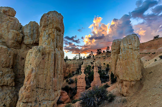 Stunning Sunset Photo From Bryce - Bryce Canyon National Park